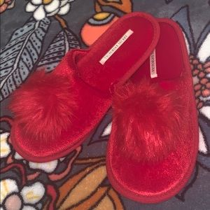 VS Red Slippers
